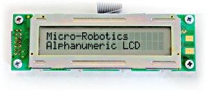 Alphanumeric LCD